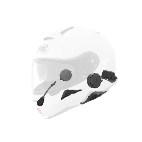 Shoei SRL 2 Motorrad-Headset für Helme GT-Air II 2 J-Cruise II 2 und Neotec II 2 Bluetooth Interkom Kommunikationssystem