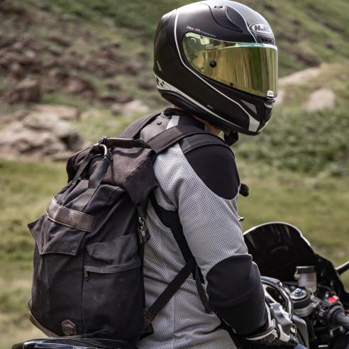 Knox Motorrad-Rucksack TREKKER wasserdicht mit Rollverschluss