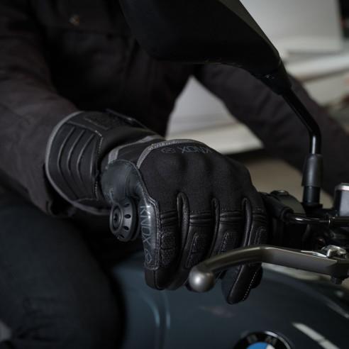 Knox Winter-Motorradhandschuhe ZERO3 MK2 wasserdicht mit Protektoren