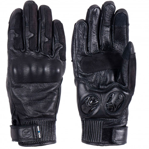 Knox Damen-Motorradhandschuhe HADLEIGH MK2 Leder wasserdicht mit Protektoren