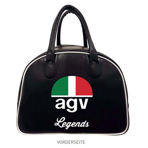 AGV Helmtasche LEGENDS BAG Kunstleder Satin für fast alle AGV Helme z.b. X3000 und X70