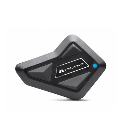 Midland Motorrad-Headset BT Mini Bluetooth 400 Meter Fahrer-zu-Fahrer Kommunikation Einzelset