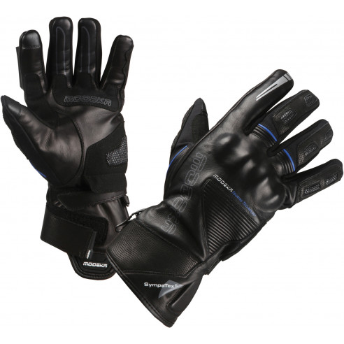 Modeka Motorradhandschuhe NERANO Vollleder Sympatex SuperFabric CE Stretch Touch Tip