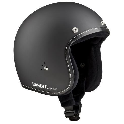 Bandit Jethelm JET PREMIUM ohne ECE inklusive Helmschirm Vespa Roller Motorradhelm