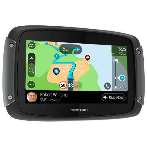 TomTom Navigationsgerät RIDER 550 World PREMIUM PACK Motorrad-Navi 4,3 Zoll mit weltweiten Karten GPS
