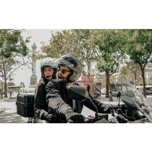 Sena Headset 3S PLUS B Boom Bluetooth Kommunikation Motorrad mit Schwanenhalsmikrofon HD-Intercom