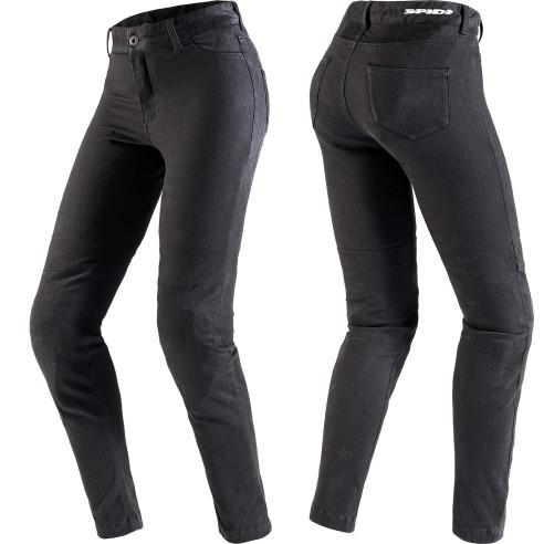 Spidi Leggings MOTO PRO für Damen einlagig Motorradhose mit Stretch CE und Warrior Lite Knieprotektoren