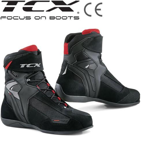 TCX Motorradschuhe VIBE WP wasserdicht CE mit OrthoLite Einlagen