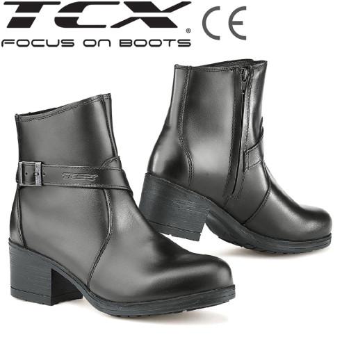 TCX Motorradstiefel X-BOULEVARD WP für Damen Stiefelette wasserdicht CE