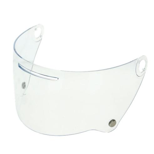 AGV Visier LEG-1 klar kratzfest für Helm X3000 vorbereitet für Pinlock UV-Schutz