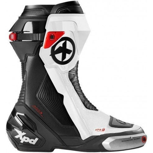 XPD Motorradstiefel XP9-R PERFORATED extrem gut belüftet CE Sport-Rennstiefel