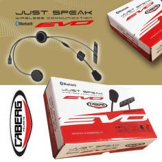 Caberg Headset JUST SPEAK EVO Bluetooth-Kommunikation für viele Caberg Helme