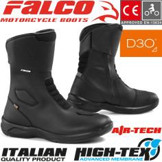 Falco Motorradstiefel LIBERTY 2.1 wasserdicht mit High-Tex-Membrane CE und D3O Protektoren