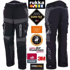 Rukka Gore-Tex Motorradhose OFFLANE mit Outlast Cordura Air-Cushion-System und D3O Protektoren