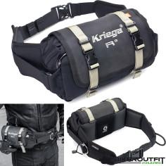 Kriega Gürteltasche R3 wasserdicht Hüfttasche mit Klappe