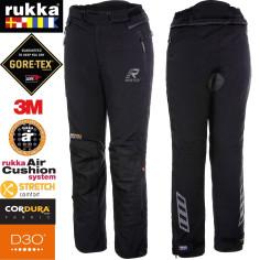 Rukka Gore-Tex Motorradhose ELASTINA für Damen Cordura mit D3O Evo Protektoren