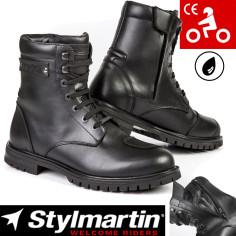 Stylmartin Motorradstiefel JACK Leder CE mit PU-Knöchelprotektoren