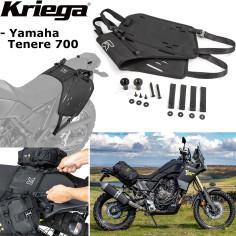 Kriega Montagesystem OS-Base für OS-Taschen an Motorrad Yamaha Tenere 700