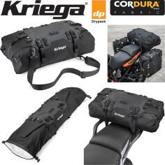 Kriega Hecktasche US-40 DRYPACK mit Cordura 40 Liter wasserdicht Motorrad-Gepäcktasche mit zwei Eingängen