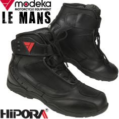 Modeka Motorradschuhe LE MANS wasserdicht Leder Hipora Reflex Sport Stiefel