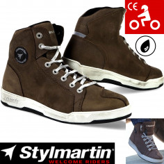 Stylmartin Motorradschuhe MARSHALL Stiefel Sneaker wasserdicht Leder