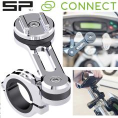 SP Connect Smartphone Handy Lenkerhalterung MOTO MOUNT PRO CHROME für Motorrad Moped