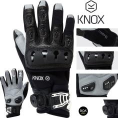 Knox Motorradhandschuhe ORSA OR3 MK II Offroad Enduro Protektoren Textil perforiert