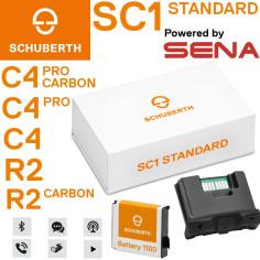 Schuberth Kommunikationssystem SC1 STANDARD für C4 / C4 Pro / C4 Pro Carbon / R2 / R2 Carbon Helme