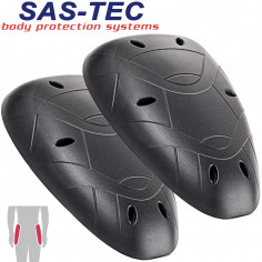 SAS-TEC 3D High-End Hüftprotektoren SC-2/07 PAAR L210 / B150 / H16 mm mit CE Schutzlevel 2