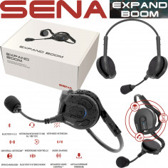 Sena Headset EXPAND BOOM wasserfestes Outdoor Intercom Kommunikationsgerät für Telefon und Musik