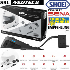 Shoei Motorrad-Headset SRL für Helm NEOTEC 2 Bluetooth Interkom Kommunikationssystem