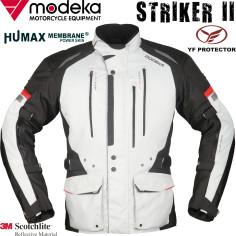 Modeka Motorradjacke STRIKER II 2 wasserdicht Humax 3M Thermofutter mit YF Protektoren