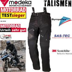 Modeka 3in1 Motorradhose TALISMEN Sympatex komplett elastisch Stretch 3M Aramid SAS-TEC Protektoren