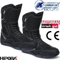 Kochmann Motorradstiefel ZYKLON wasserdicht mit Hipora-Membrane