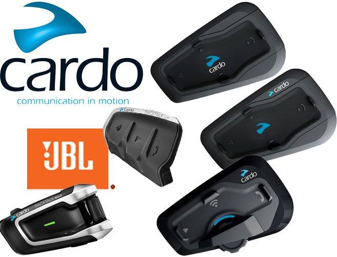 Cardo Motorrad Headsets