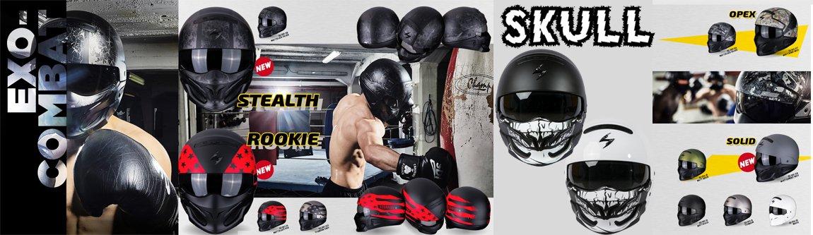 Exo-Combat Fighter Helm von Scorpion