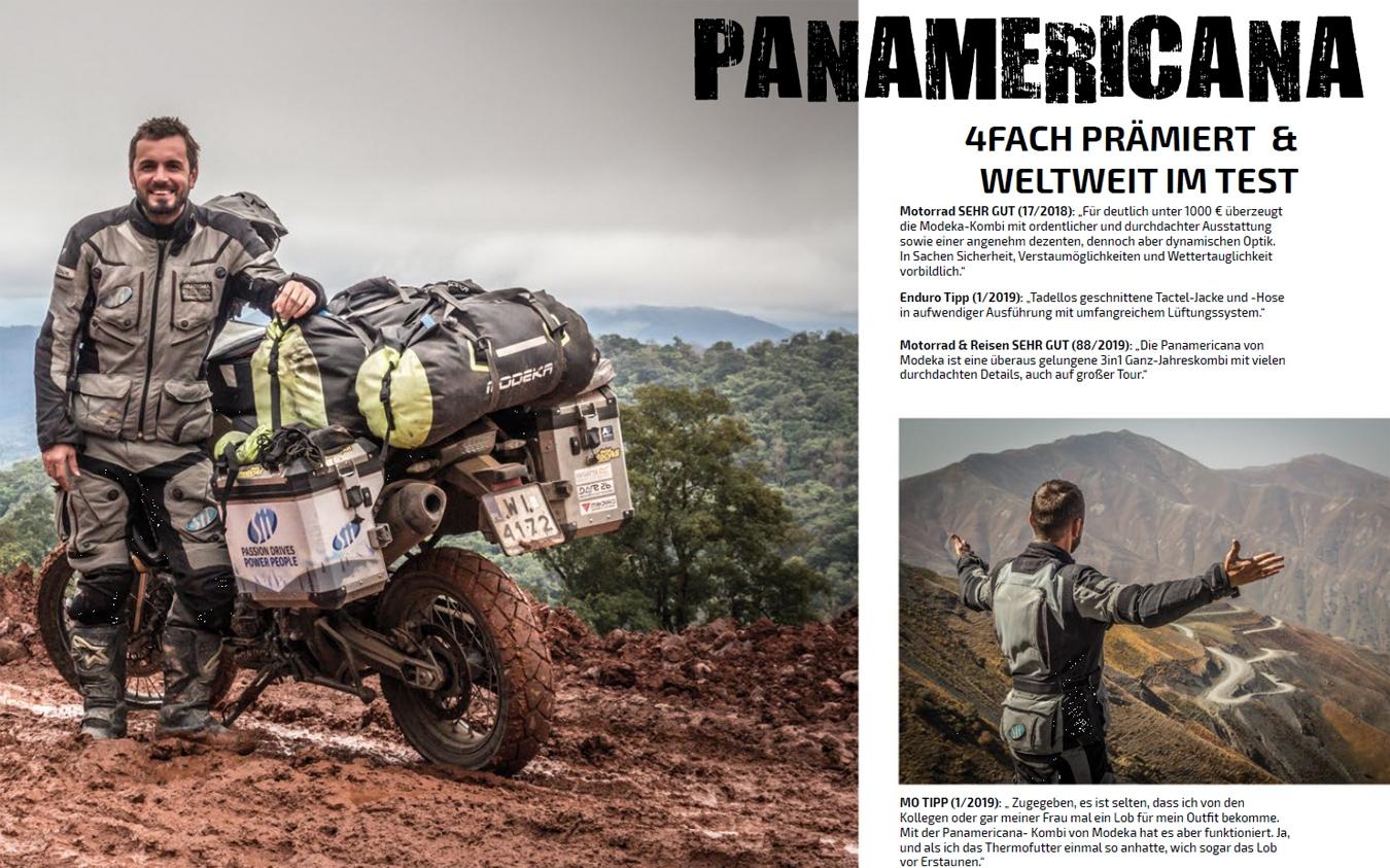 Modeka Panamericana Motorradjacke