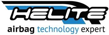 Helite Airbagprodukte für Motorradfahrer Logo