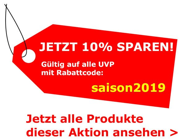 10% Rabatt auf UVP