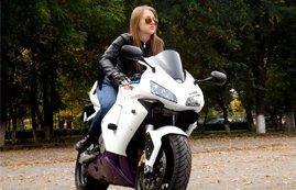 Motorradbekleidung für Frauen